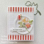 By Su Mohr for TGIF; Click aromasandart.com to go to my website for details! Featuring: Summer Shadows Dies, Shaded Summer Stamp Set, Time Worn Embossing Folder, Ornate Laters Dies, Ornate Frames Dies, Layering Circles Dies, Stamparatus, Stampin