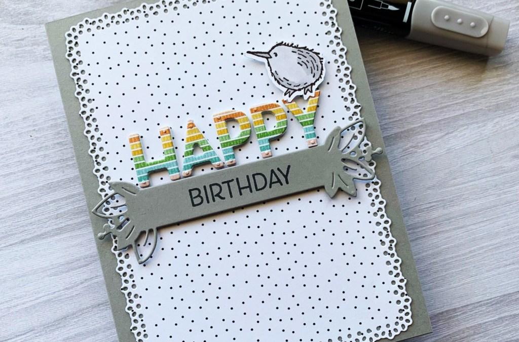 Wee's Happy Birthday Card