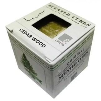 ceder, cederwood, scented cubes, waxmelts, scentchips,