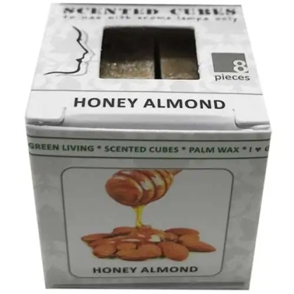 honey almond, scented cubes, waxmelts, scentchips,