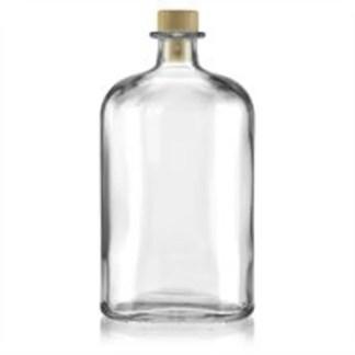 geurstokjes, accessoires, lege fles, ovaal, groot,