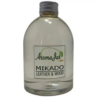leather & wood, eco, los flesje, geurstokjes, mikado, aromajar,