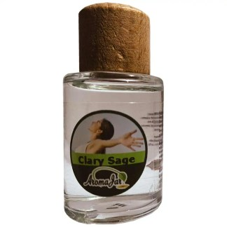 clary sage, aromajar, diffuserolie, etherische olie,