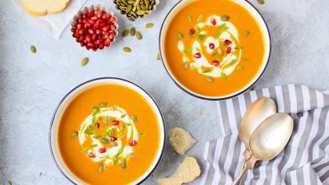Pumpkin Soup | How To Make Pumpkin Soup (Vegan)