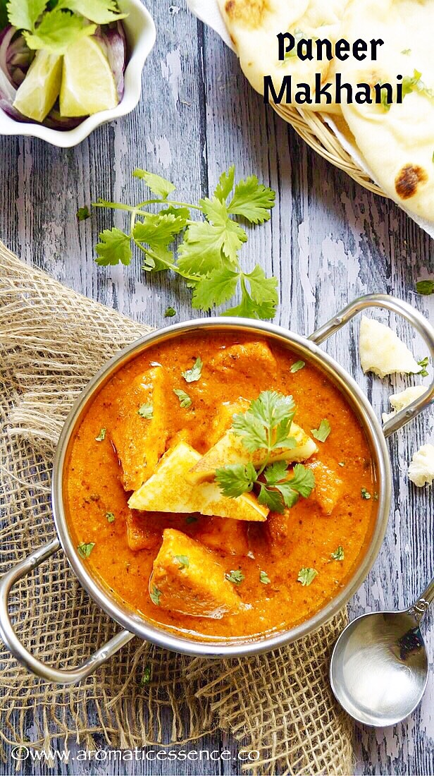 Paneer makhani ( No onion-no garlic recipe)