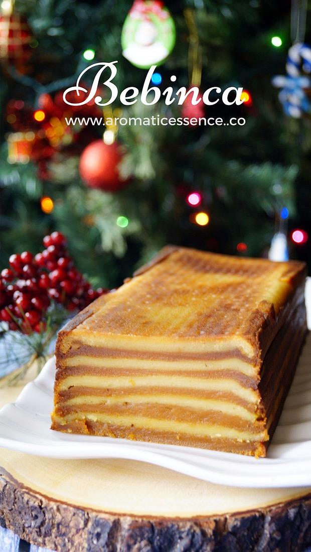 Bebinca ( Multi layered Goan dessert)