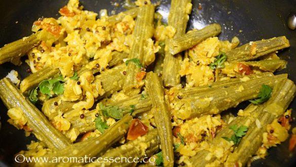 Drumstick Bhaji Recipe | Goan Style Sautéed Drumsticks