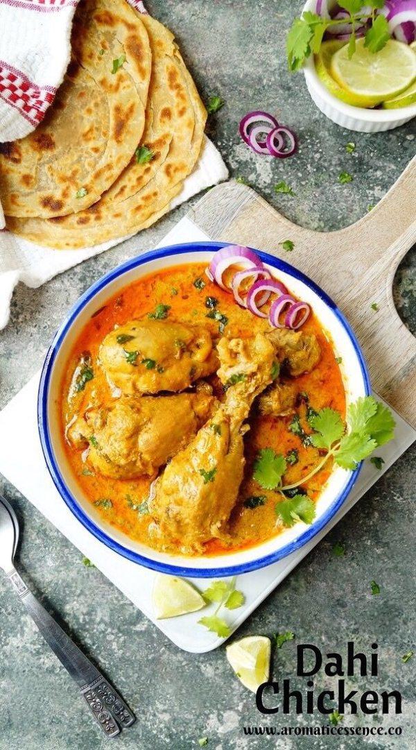 Dahi (yogurt) chicken