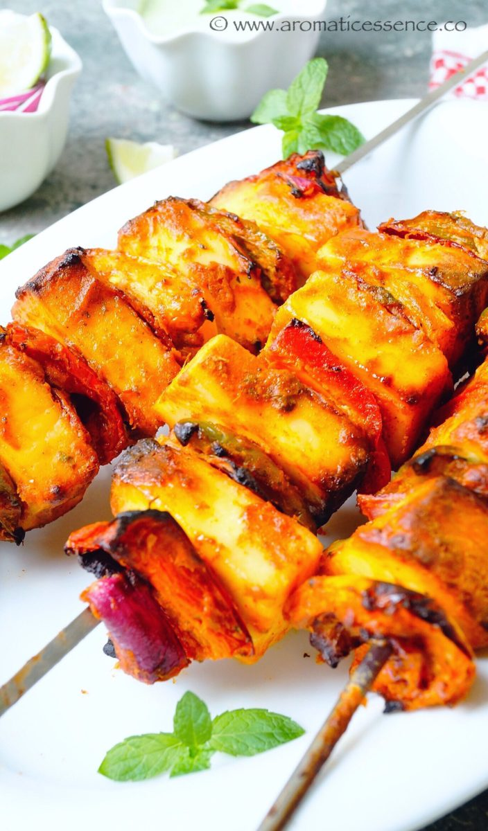 how to cook paneer tikka