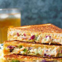Veg Mayonnaise Sandwich Recipe | Mayo Sandwich | Grilled Mayo Sandwich