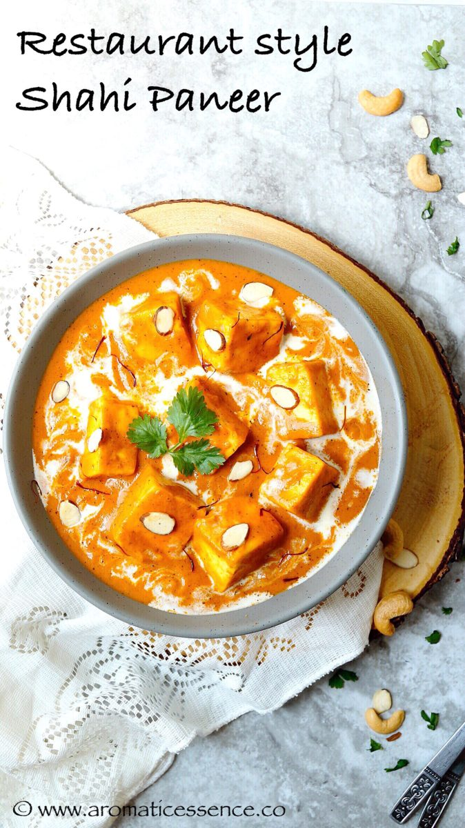 Shahi paneer restaurant style shahi paneer aromatic essence with all its royal decadence shahi paneer is most certainly apt for a kings meal but you dont really have to be a king to enjoy shahi paneer forumfinder Gallery