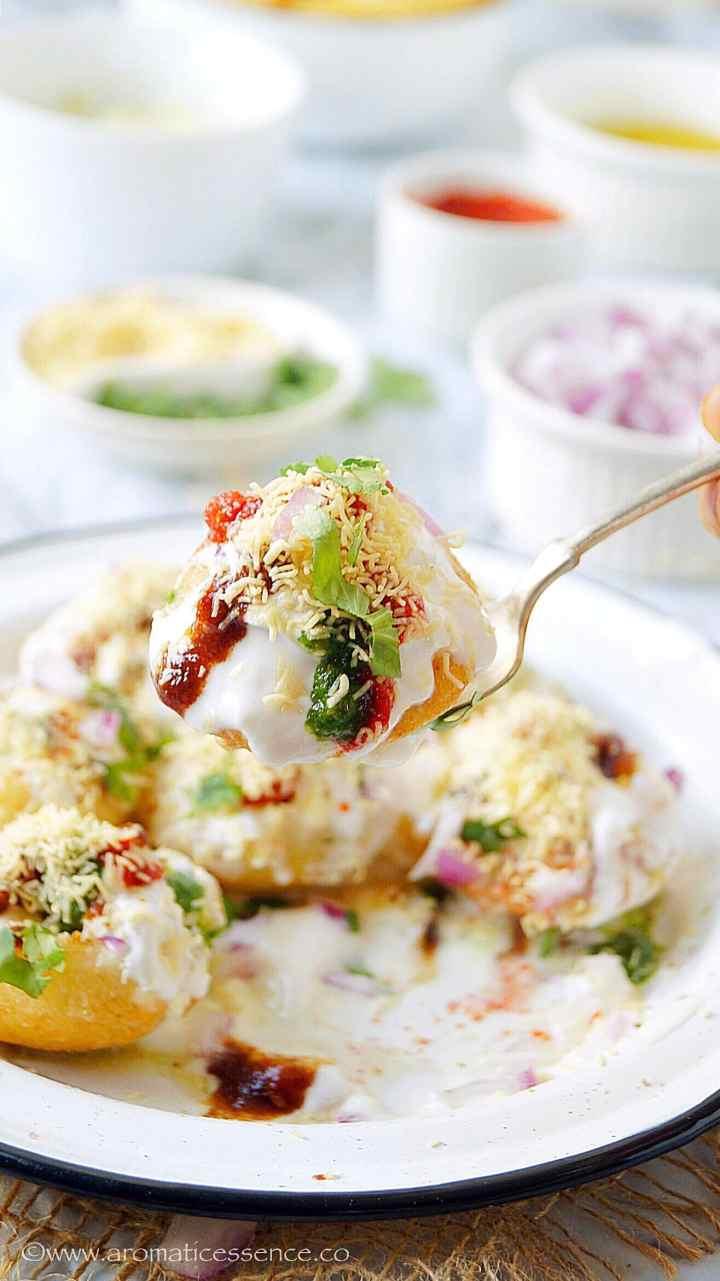 Dahi Puri Recipe | How To Make Dahi Puri