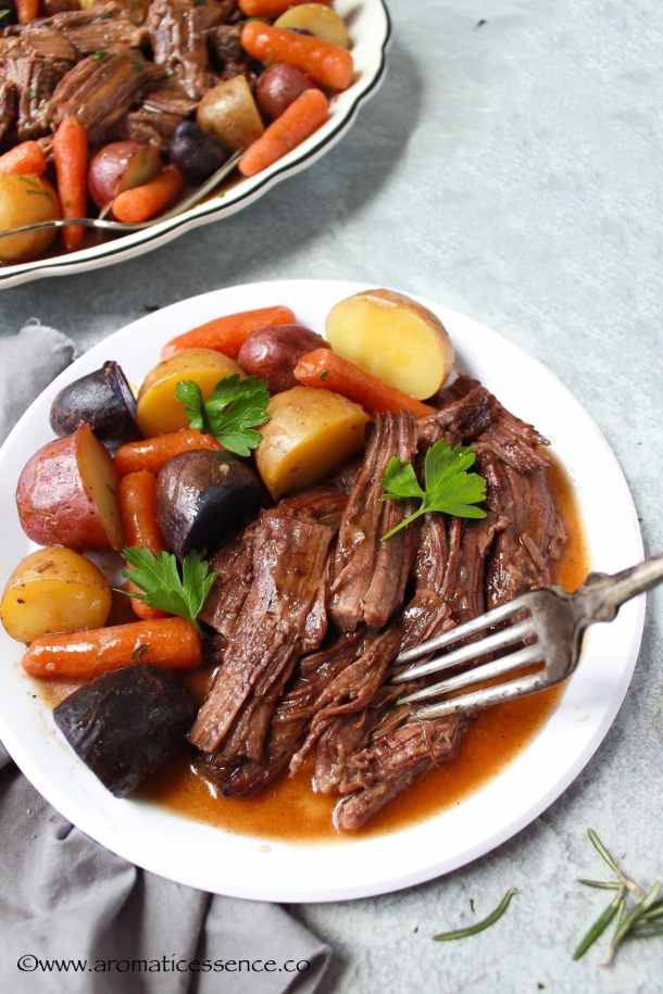 Tender, fall-apart beef pot roast