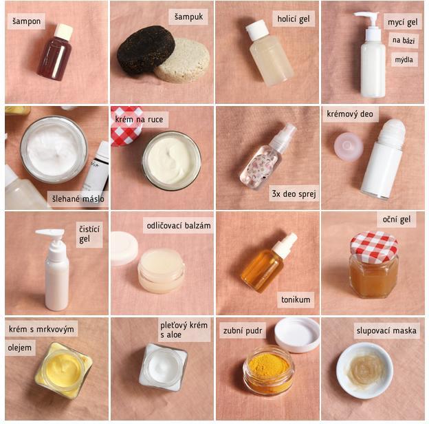 Otestované a vyladěné recepty na výrobu přírodní domácí kosmetiky