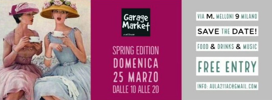 "Garage Market ""Spring Edition""…"
