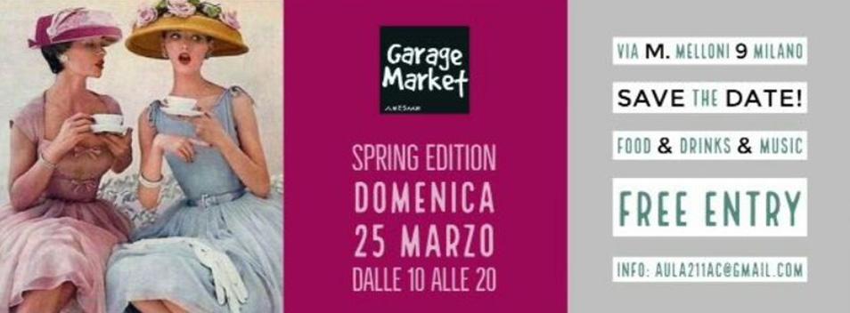 """Garage Market """"Spring Edition""""…"""