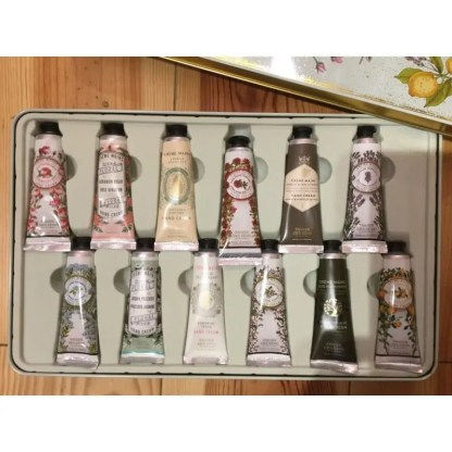 Caja de 12 cremas de mano