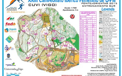 Mapas entrenamiento Campeonato Ibérico