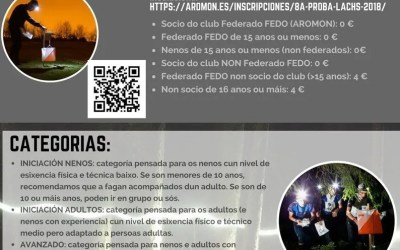 8ª Proba LACHS – 3ª Carreira de Orientación Concello de Marín (7/7/18 – Nocturna)