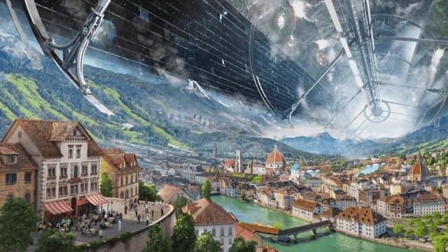 ces colonies O'Neill pourraient choisir de reproduire les villes de la Terre