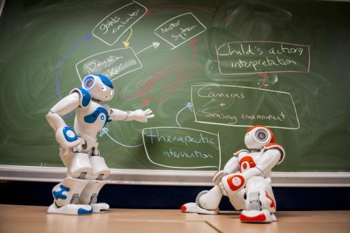 Milo, un robot créé pour aider les enfants autistes
