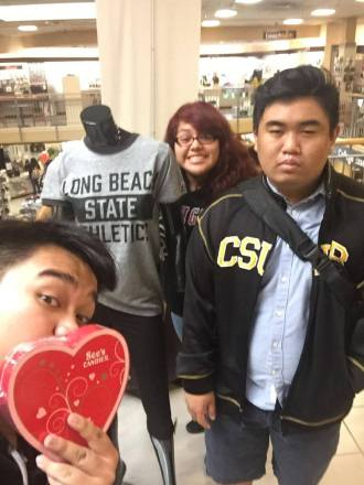 Aaron Dela Rosa, Art 110, Spring '16 - They sell Valentine's candy in April.