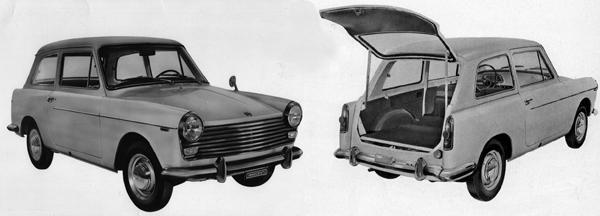 Supermini, years ahead of its time: The Innocenti-Austin A40S Combinata set the trend for the all-conquering hatchbacks that would follow.