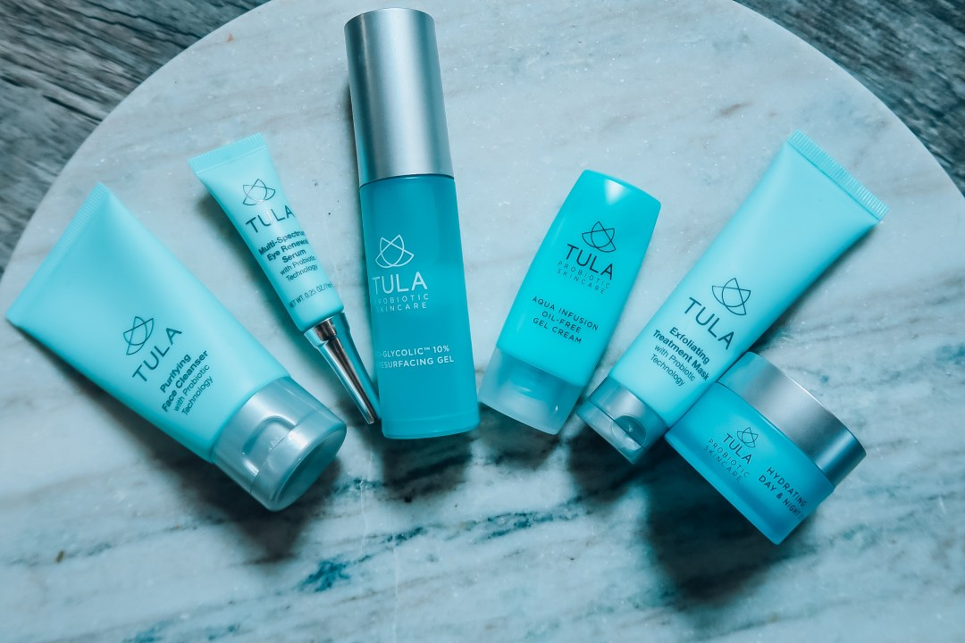 My steps to clear skin-Tula Skincare