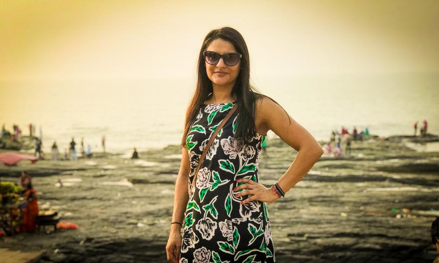 Me at Banstand, Bandra