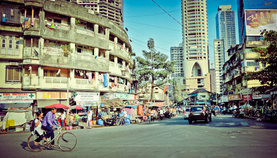 Street View in Mumbai