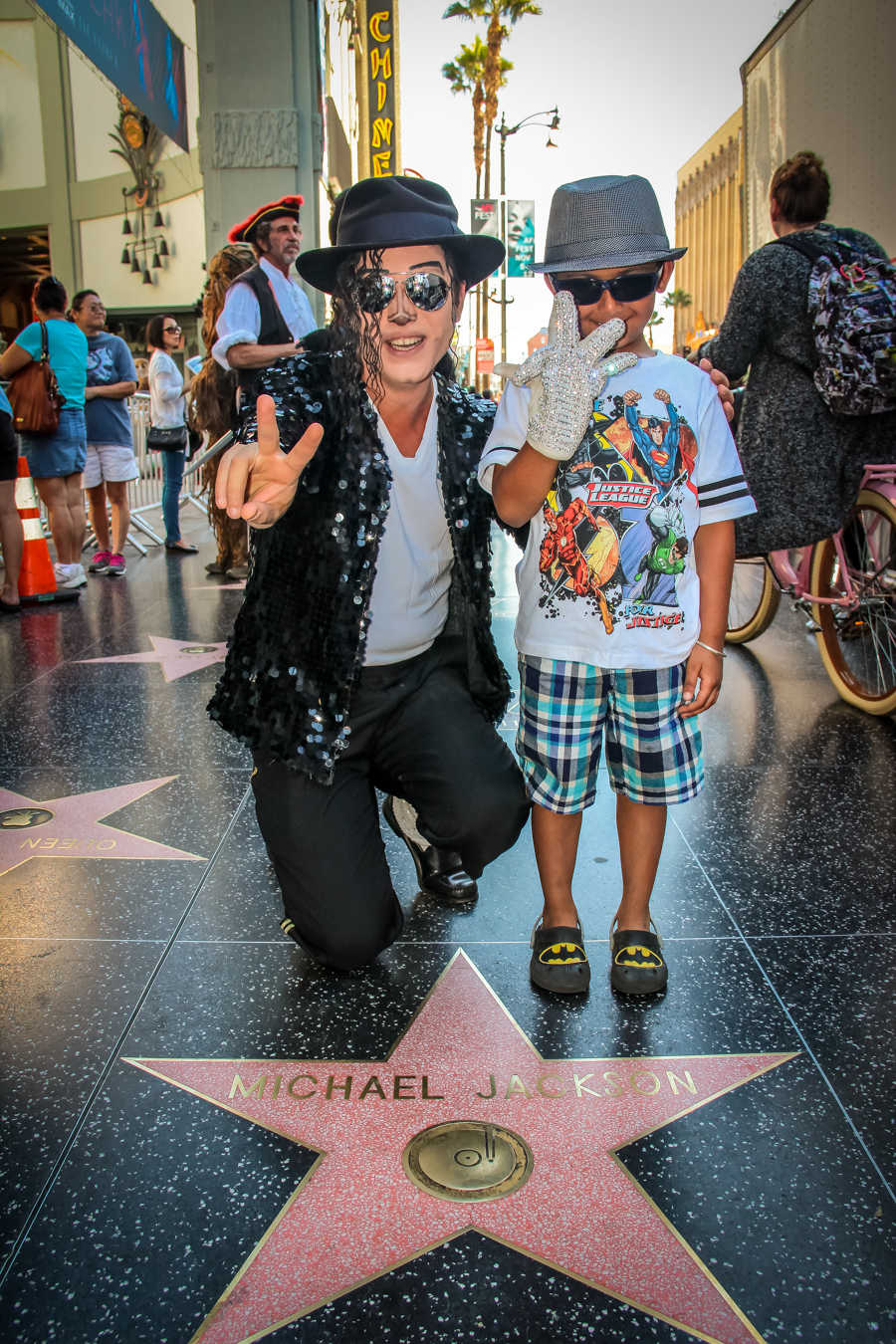 Shivam With Michael Jackson Impersonator