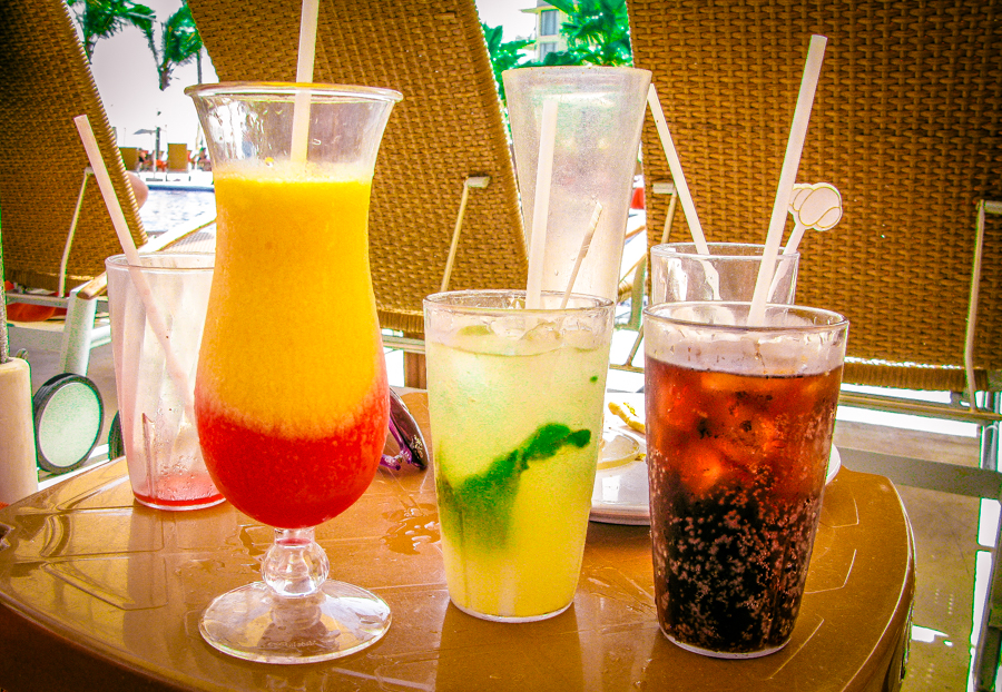 A Selection Of Drinks