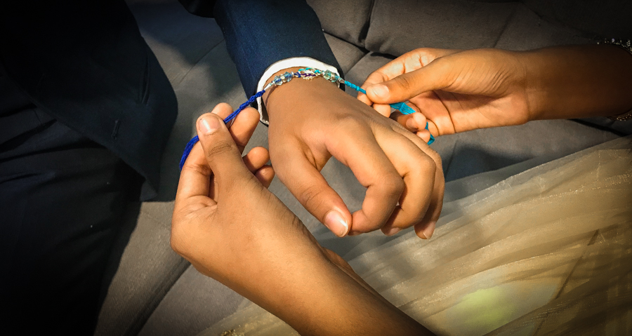 Brother-Sister Day - Shalini Ties A Rakhi on Shivam