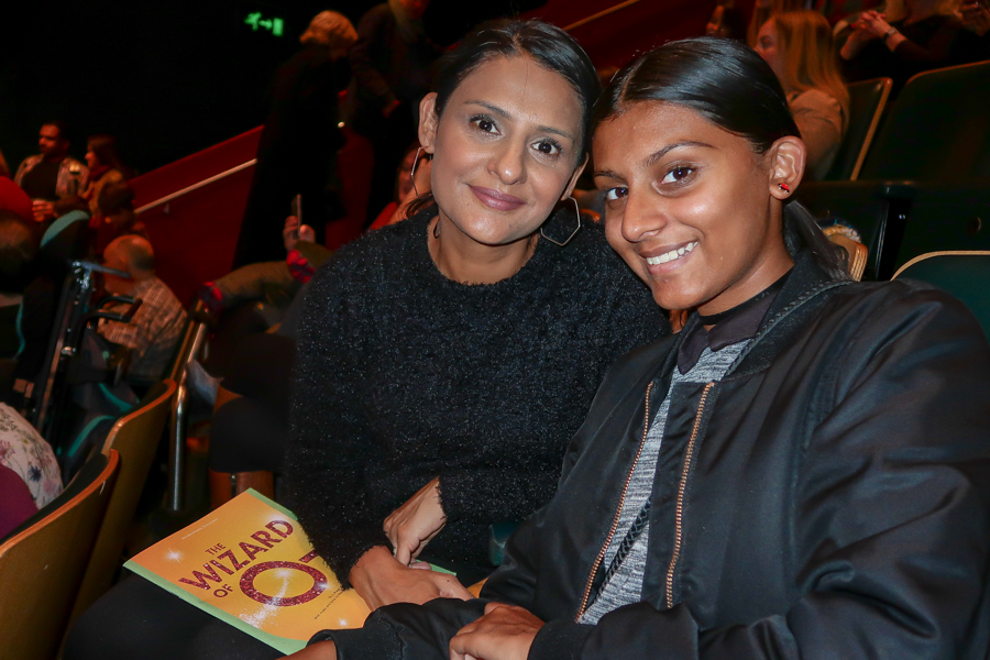 We're Off To See The Wizard - Me and Shalini in the theatre