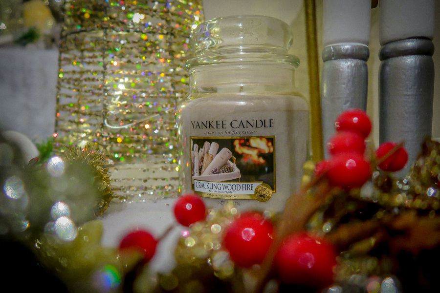 Getting Festive With Yankee Candles - Crackling Wood Fire