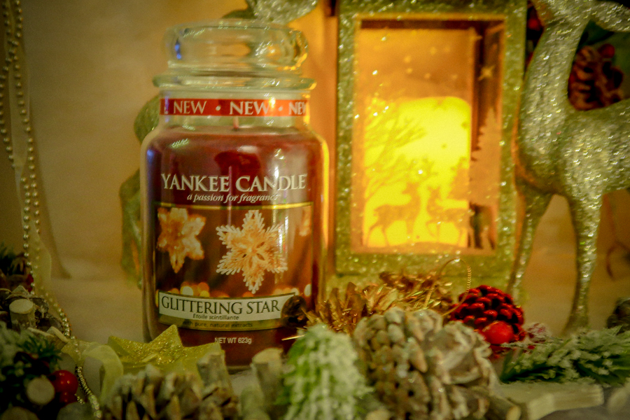 Getting Festive With Yankee Candles - Glittering Star