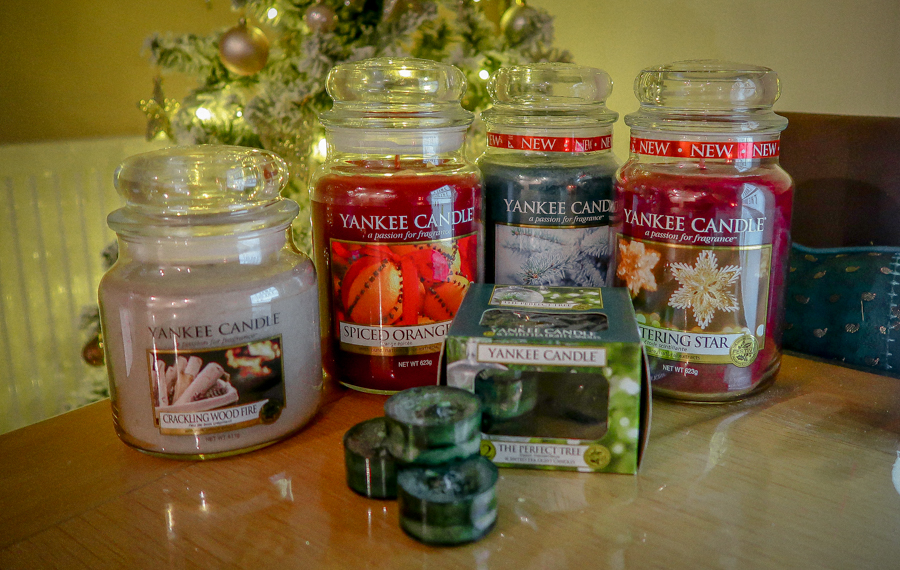 Getting Festive With Yankee Candles - Candles