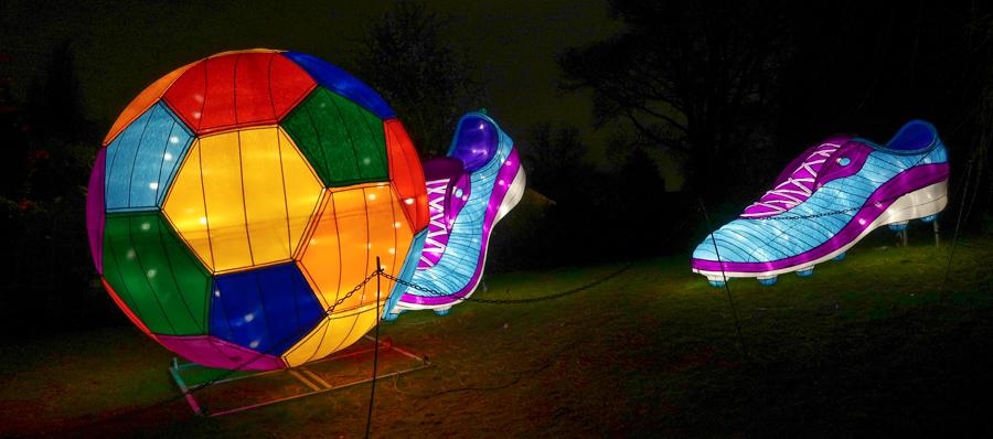 Magical Lantern - Football Display