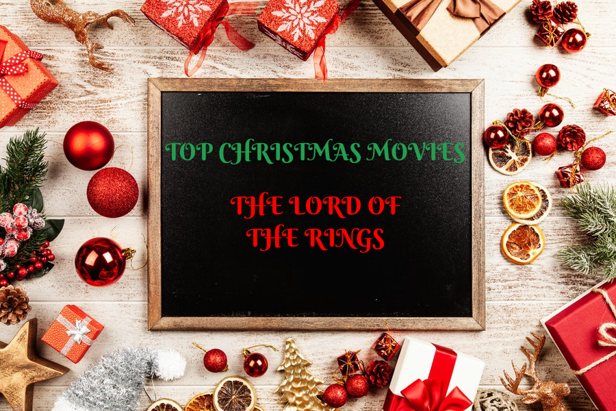 Christmas Movies -The Lord Of The Rings sign