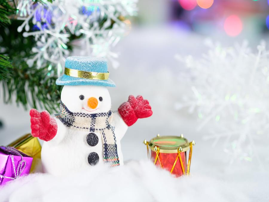 10 Things I Love About Christmas - Snowman