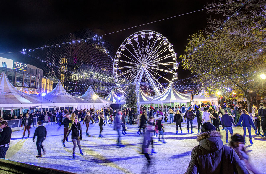 Christmas In My City - Ice Rink And Big Wheel