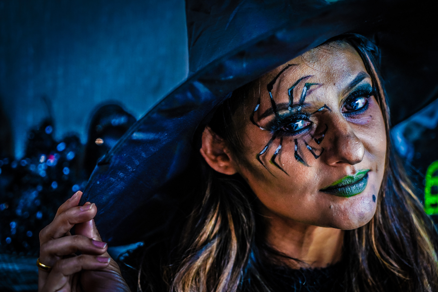 Witch's Face Makeup