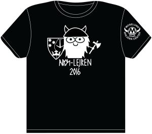 Aroslejren-2016----t-shirt