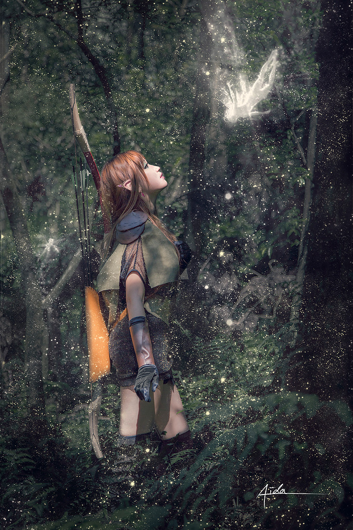 Elf Archer- Forest