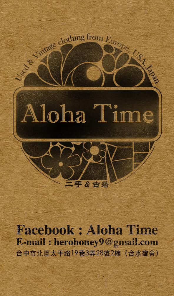 Aloha Time Business Card