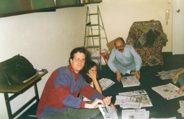 Andrés, Mechi Y Jorge Bernetti.