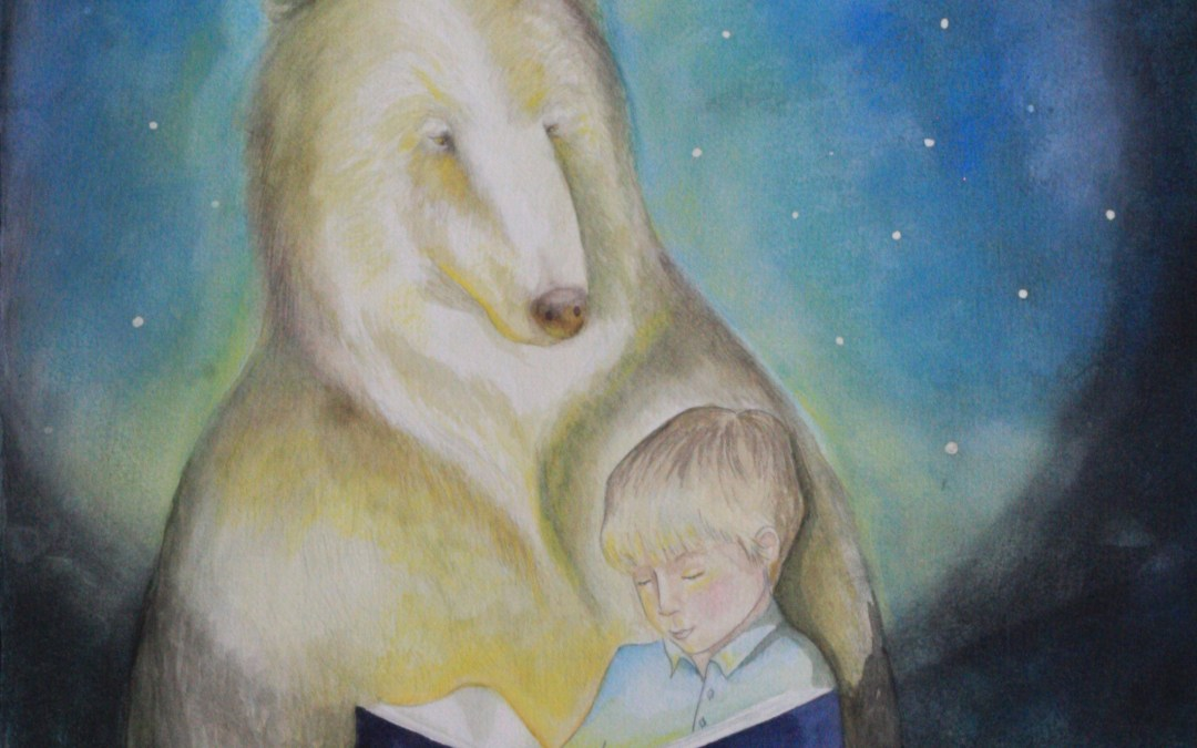 LAMPLIGHT: A Celebration of Childhood paintings at Jane Newbery Gallery