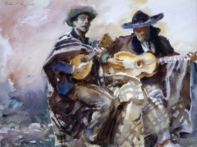 The Blind Musicians by John Singer Sargent Aberdeen Art Gallery & Museums Collections