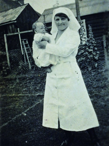 """Seven o'clock and not a baby bathed"" – The Story of a Lambeth Midwife"