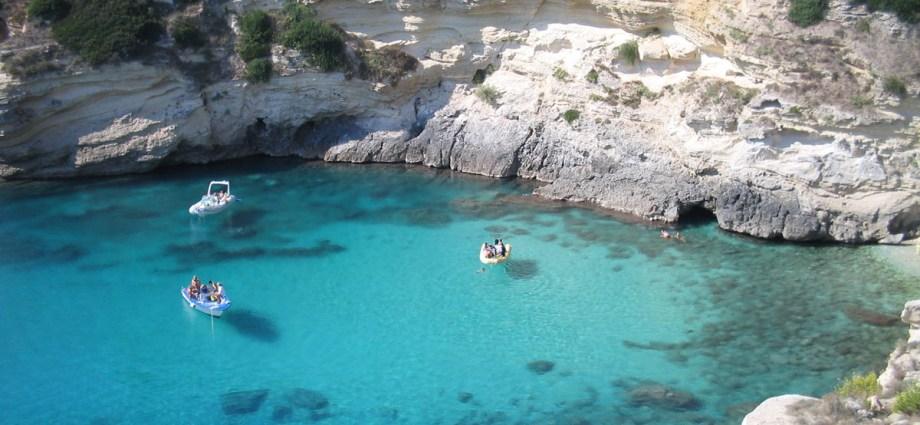 Lago Alimini Baia dei Turchi